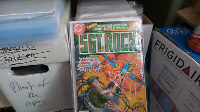 Sgt Rock #302-342 Forty Issues In Order! Great Deal!!