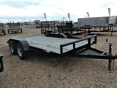 2018 SALVATION ELITE 83x14 CAR TRAILER