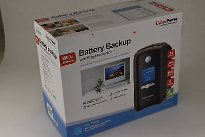 CyberPower CP1000AVRLCD Battery Backup with Surge Protection