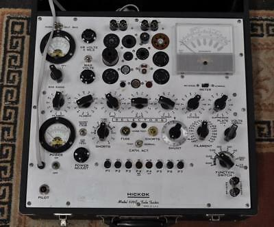AWESOME HICKOK 539C TUBE TESTER with MANUALS WORKS GREAT