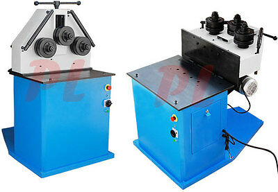 2HP HV Ring Band Roller Roll Bender Bending Machine Pipe Square Round Flat
