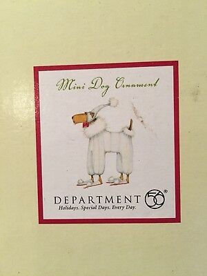 Department 56 Patience Brewster Mini Dog Ornament Airedale Terrier