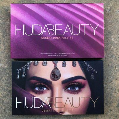 2018 New Huda Beauty Desert Dusk Eye Shadows Palette Eye Shadows 18 Colors UK