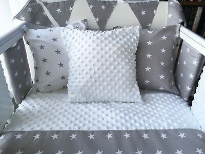 Handmade Cushion Cover White Dimple