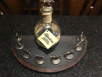 Bourbon Barrel Lid For Blantons Stoppers Display