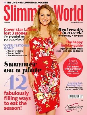 Slimming World Magazine July 2016  ~~~ Brand New ~~~ Fast & Free P&p ~~~