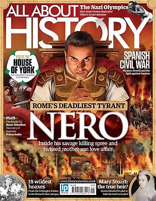 All About History Magazine #41 2016 Rome's Deadliest Tyrant ~ Spanish Civil War