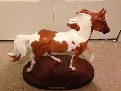 Obvious Flair, spotted saddle horse, Resin Breyer #8180