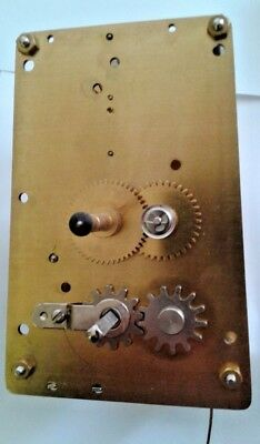 Hermle Regulator wall clock Movement 781 Cable wind time only 66 cm