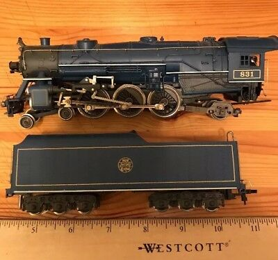 Vintage Rivarossi Ho Scale 4-6-2 Blue Comet Steam Loco