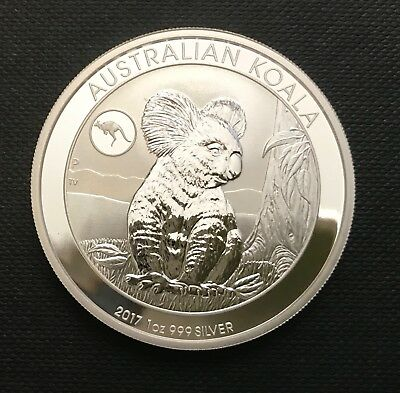2017 1 oz .999 Silver Koala with Kangaroo Privy - Perth Mint