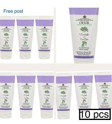 WHOLESALE/JOBLOT 10pcs Lavender & Tee Tree Clarifying Face Mask 175ml