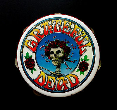 Grateful Dead Tambourine Remo Percussion Arts Vintage Bertha Mouse Kelley GD Art