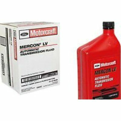 Motorcraft Mercon Lv Automatic Transmission Fluid Atf 12 Quart Case GIFT NEW