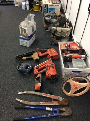 Huge lot of assorted power and hand tools -   Pick up ONLY / NO RESERVE