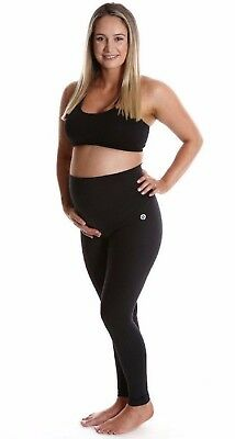 Brand new ACTIVE TRUTH Mama Pregnancy Maternity Long Black Tights. Size XL