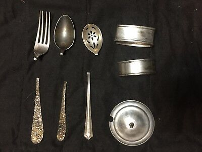 Sterling Silver LOT 144 Grams Scrap or not