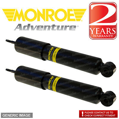Front Shock Absorbers Black Monroe Pair Range Rover P38 STC3672 D8644 x2