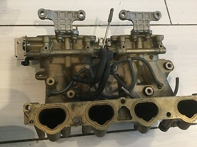 2007 Yamaha 115Hp Intake Manifold 68V-13641-00-94 Throttle Body 68V-13751-01-00