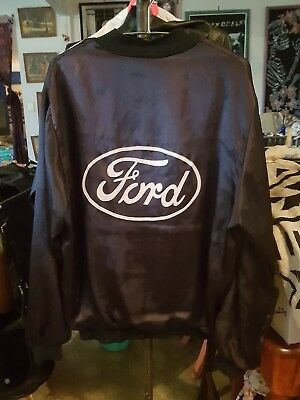 Vintage Ford Jacket (womens 12 to 16) (mens S/M) Free Post