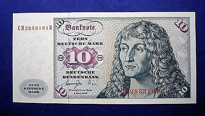 Germany 1977 10 Deutche Mark Bank Note... UNC
