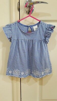 Baby/toddler Girls Top  ~ Size 1 ~ Good Pre-Worn Condition