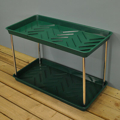 Garland 2 Tier Garden Boot Tray And Tidy In Green