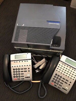 NEC IPK/ Commander Elite Phone System with Handsets