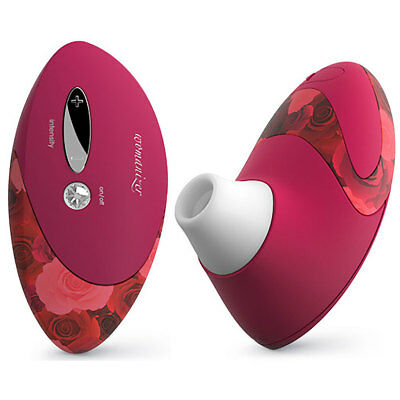 Womanizer Deluxe (W500) Special Edition-Red Roses Genuine NEU