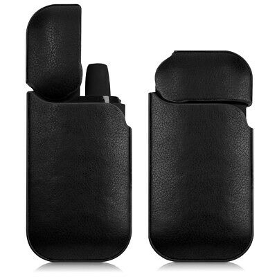 Cover For Iqos Pocket Charger Synthetic Leather Protective Case Black Cigarette