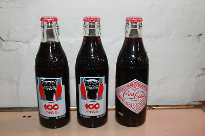 Rare 100th Coca-Cola bottles for Norway