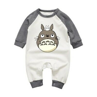 My Neighbor Totoro / Totoro & Mini - Ranita Bebé / Pelele / Body / Baby Romper
