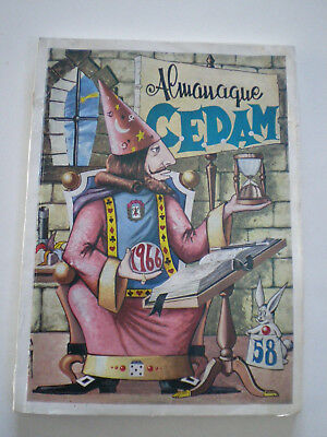 C.E.D.A.M. Nº 58 Almanaque 1966 Magia Ilusionismo SPAIN MAGIC ILLUSIONISM MAG