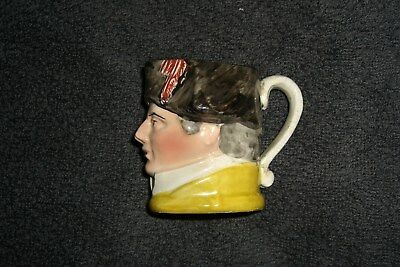 Lord Nelson Type Mini Toby Jug
