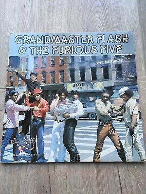 Grandmaster flash and the furious five the message vinyl ep 33 1982