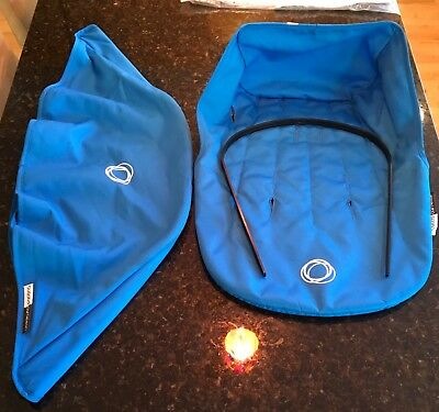 Bugaboo Cameleon Blue Seat Liner, Canopy, Canopy Wire New Unused