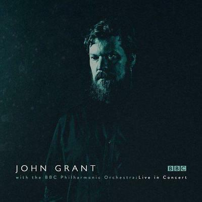 JOHN GRANT WITH THE BBC PHILHARMONIC ORCHESTRA ‎– LIVE IN CONCERT 2CDs (NEW)