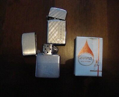 Vintage Zippo Pocket Lighters For Parts Or Repair