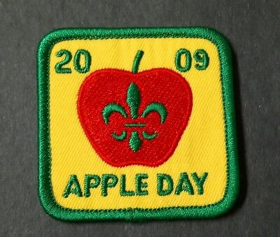 Scouts Canada- Apple Day 2009 Badge/Patch