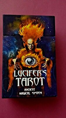 Lucifer Tarot In English New Edition