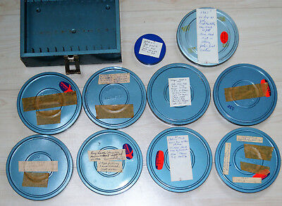 Lot of 10 8mm Home Movies from 1960's Asbury Park, Worlds Fair + much more