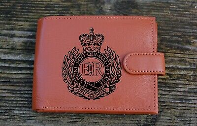 Royal Engineers Men's  Genuine leather wallet complete with  Gift Box