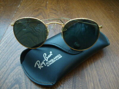 Ray Ban Bosch & Lomb W1573 Sunglasses h 45 x w 123  x l 130 mm & Case