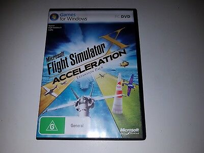 Microsoft FLIGHT SIMULATOR X Acceleration Expansion Pack - PC DVD ROM Game