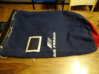 Ancien Sac Voyage Air France Avion Aviation Transport Aerien Concorde