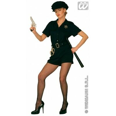 Ladies Cop Lady Costume Policeman Police Nypd Cspd Fancy Dress Cosplay Outfit