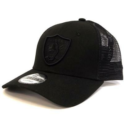 New New Era 940 Trucker Oakland Raiders - Black / Black