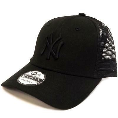 New New Era 940 Trucker NY Yankees - Black / Black