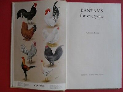 Bantams for Everyone  H Easom Smith  1st Edition 1967  Keeping Poultry Chickens