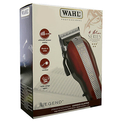Wahl 5-Star Series Professional Legend Corded Clipper 8147